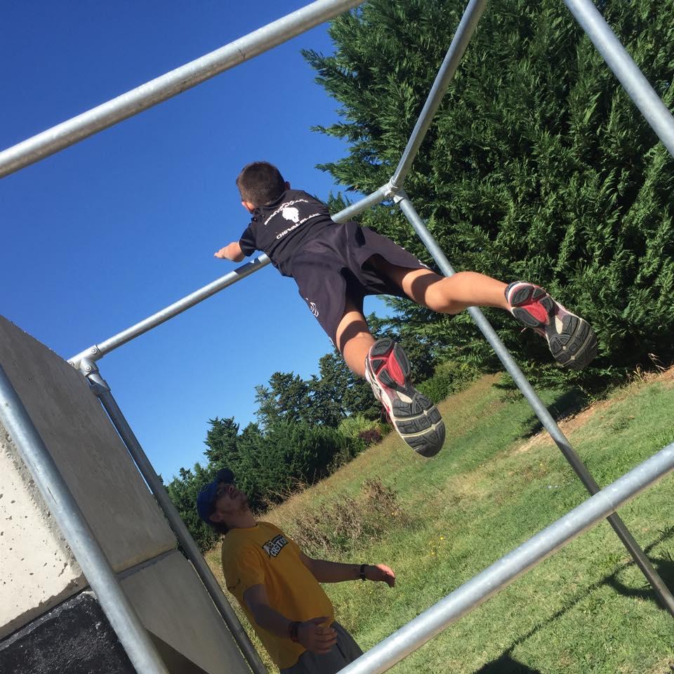 Kee Klamp im Sport für Freerunner