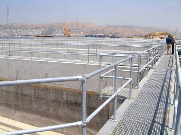 Kee Klamp Rohrverbinder in der Wasserindustrie