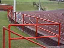 Kee Klamp im Sport: Laufstrecken Einzäunung