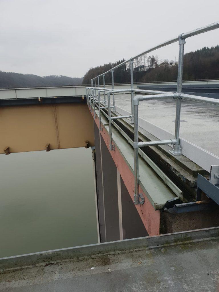 Kee Klamp im Wasserkraftwerk hier Schleusen-Sicherung