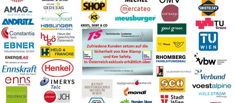 Top Kunden Österreichs sind zufriedene Kunden von TS Technische Systeme